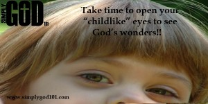 Through the Eyes of a Child- By Melissa Lundy