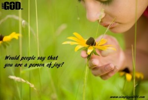 Are You Joyful?