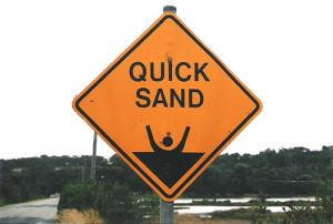 Pride: Sinking Sand