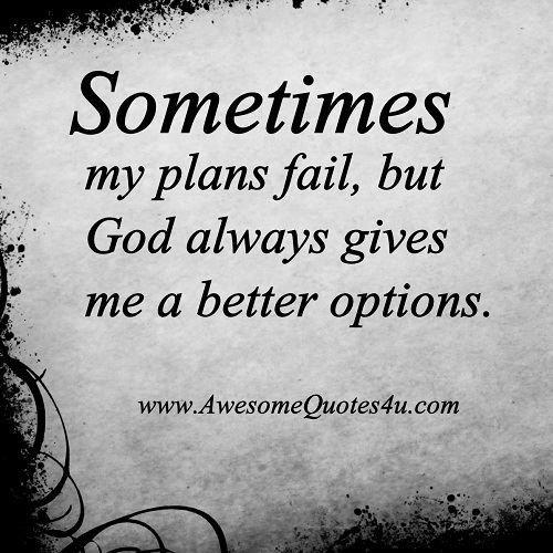I Fail Sometimes