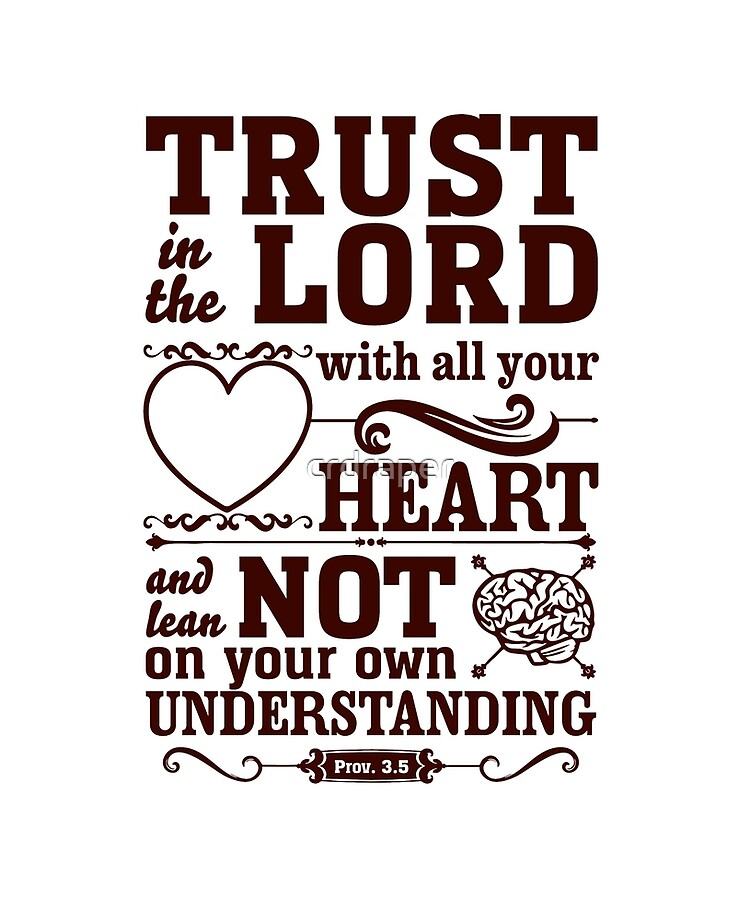 Trust in the Lord in Everything