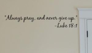 Pray Always