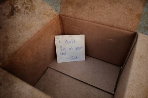 Cant put God in a box!