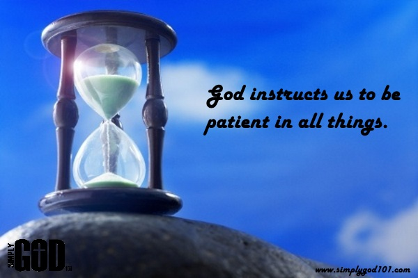 Give me Patience Lord